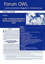 1 Jahr Arbeitsmarktreform: Strukturveränderungen in OWL