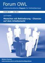Menschen mit Behinderung - Chancen am Arbeitsmarkt