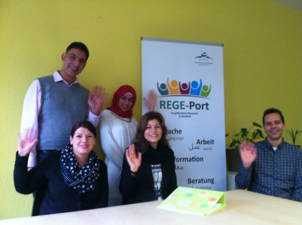 REGE-Port we are open