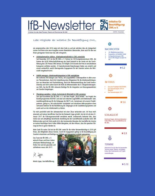IfB-Newsletter 12-16