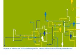 Gute Beispiele gesellschaftlichen Engagements von Unternehmen aus NRW