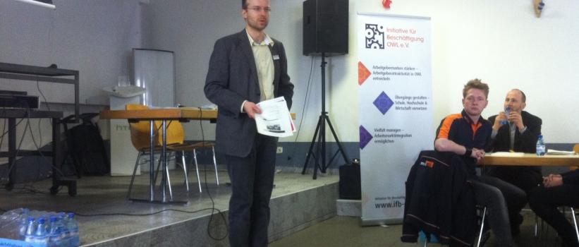 Informationsveranstaltung zur dualen Ausbildung für Menschen mit Migrationshintergrund