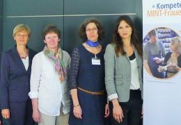 Erfolgreicher Abschluss der Kompetenzwerkstatt MINT-Frauen