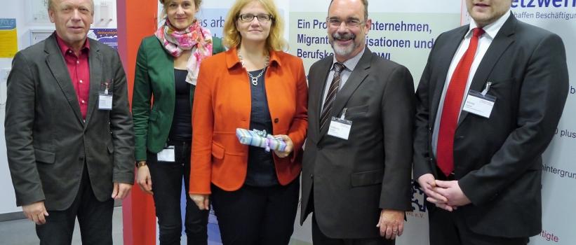 Staatssekretärin Kramme zu Gast beim Projektabschluss der Kompetenzwerkstatt Vielfalt + Ausbildung